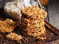 Рецепта Коледни меденки с овесени ядки, джинджифил и бакпулвер